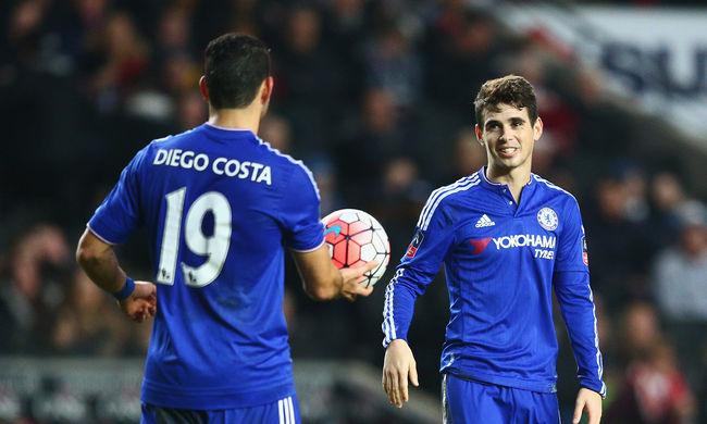 FA-kupa: Továbbjutott a Chelsea és az Everton, elkészült a sorsolás