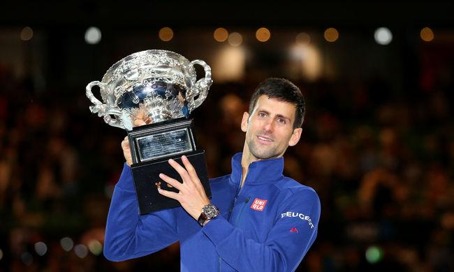 Australian Open: hatodszor nyert Novak Djokovics