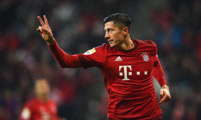 Két góllal nyert a Bayern München - videó