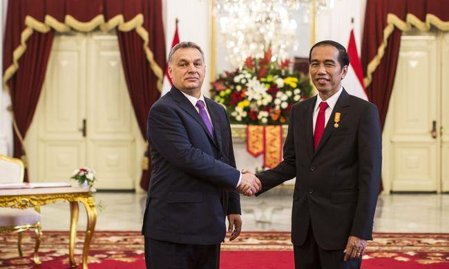 Orbán Indonéziában: Magyarország a legstabilabb állam Európában