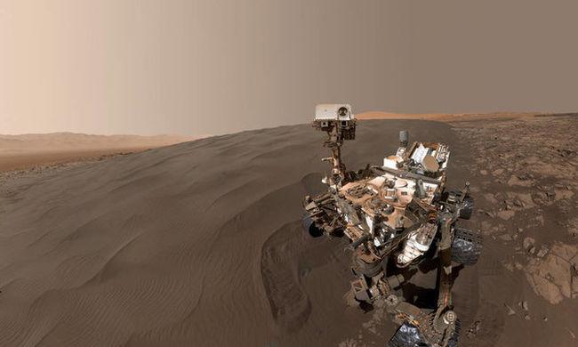 Így még soha nem látta a Marsot - videó