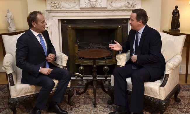 Kedd délben kap új javaslatot a brit miniszterelnök az EU-tól