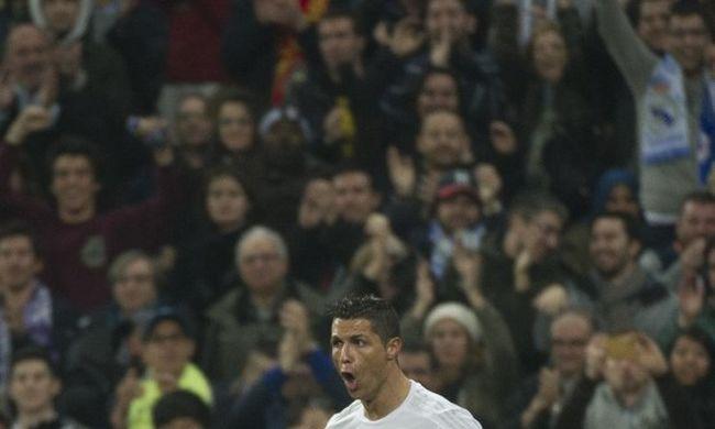Fantasztikus Ronaldo: a Real elgázolta az Espanyolt