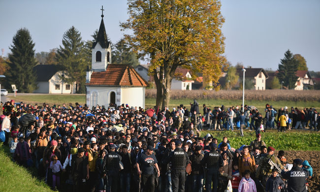 Egyre jobban félnek a migránsoktól Szlovéniában