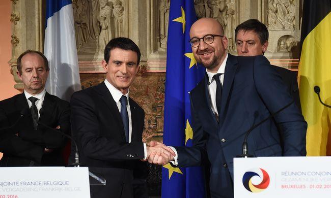 Terrorellenes megállapodást kötött Belgium és Franciaország