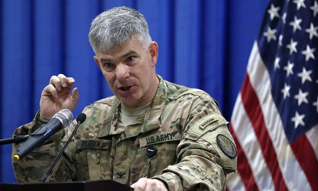 Erkölcsi aggályai vannak az Iszlám Állam szőnyegbombázásával szemben az amerikai főparancsnoknak