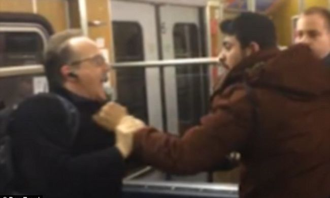 Nyugdíjasokat bántottak a migránsok a metrón, mert kiálltak egy nő mellett