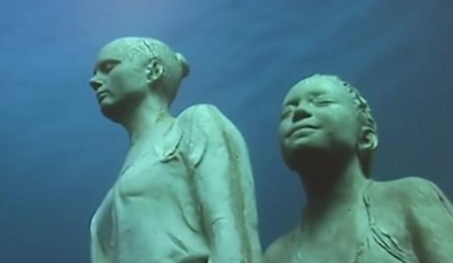 Víz alatti múzeum nyílik a tenger mélyén - videó