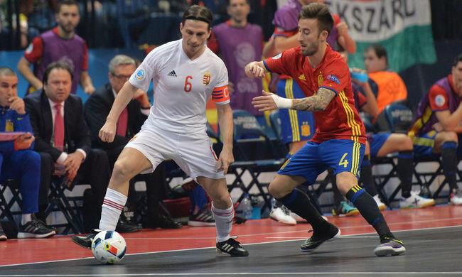 Kikapott a magyar válogatott az Európa-bajnokság első meccsén