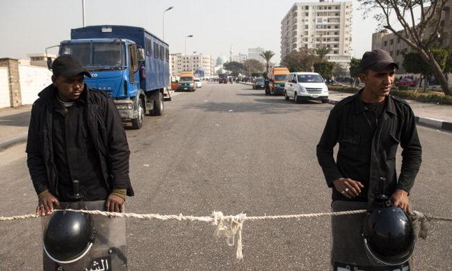 Külföldieket elrabló bandára csapott le az egyiptomi rendőrség