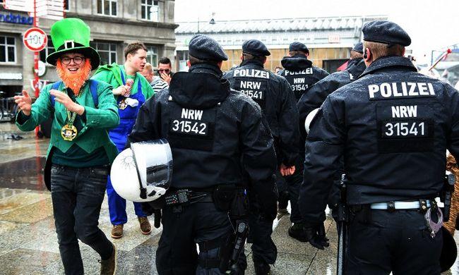 Kölni karnevál: már 66 feljelentést tettek szexuális bűncselekmény miatt