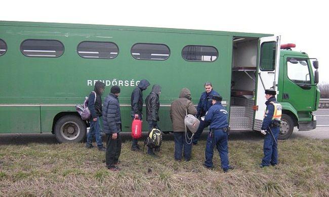 Vadvédő háló alatt bújtak át, úgy menekültek a migránsok