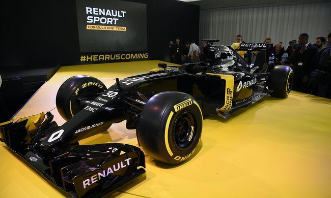 Így fog kinézni a Renault Forma-1-es autója