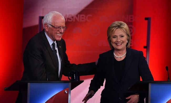 Agresszívan kezdődött, békésen végződött a vita a két demokrata jelölt közt