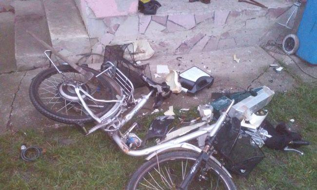 Fejszével verte szét anyósa elektromos biciklijét
