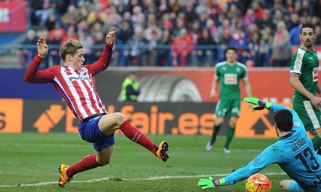 Századik gólját lőtte Torres, nyert az Atlético - videó