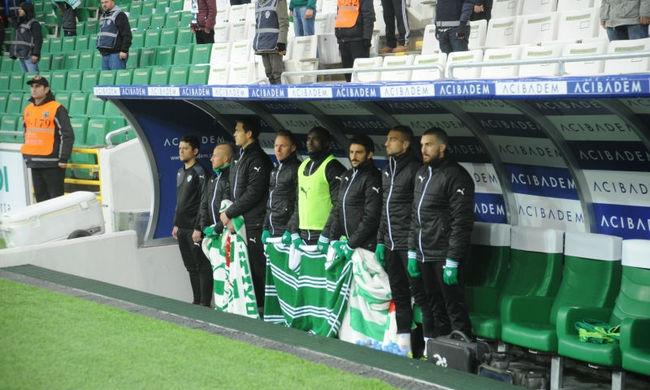 Dzsudzsák a kispadról nézte végig a Bursaspor meccsét