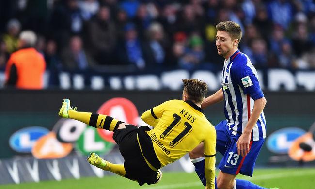 Dárdai csapata bravúros döntetlent ért el a Dortmund ellen, Huszti gólt lőtt
