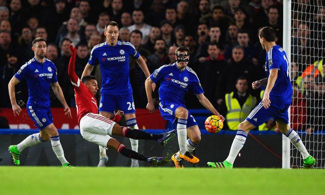A Manchester United megint nem tudta legyőzni a Chelsea-t