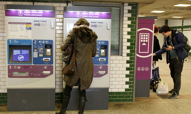 A BKK-automaták egyre többször bánnak el az utasokkal