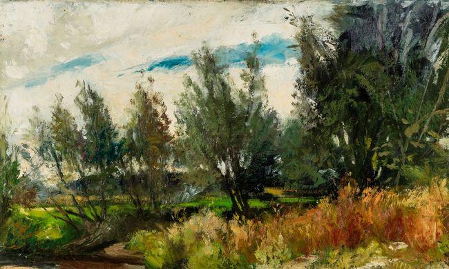 Nyolc értékes festmény érkezett Kanadából a miskolci múzeumba