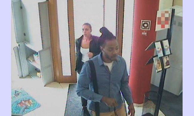 Pénzmosás miatt keresi a rendőrség a képen látható külföldi nőt és férfit