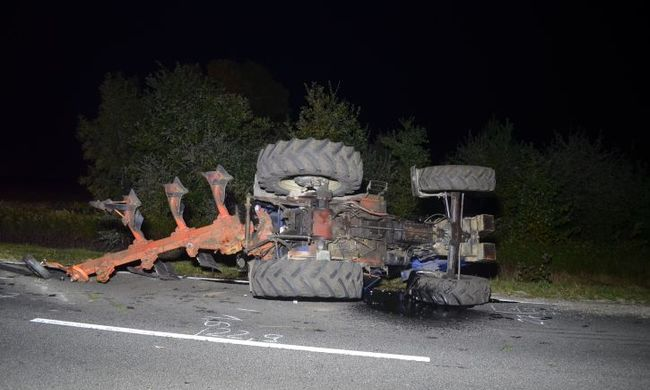 Részegen vezette a traktort, többen megsérültek miatta