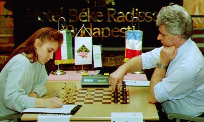 A sakk királynője - filmet forgatott a BBC Polgár Juditról