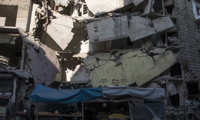 Török katonák jelentek meg Aleppónál