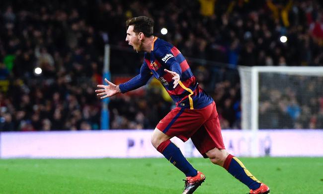 Először lett a hónap játékosa Lionel Messi a spanyol bajnokságban