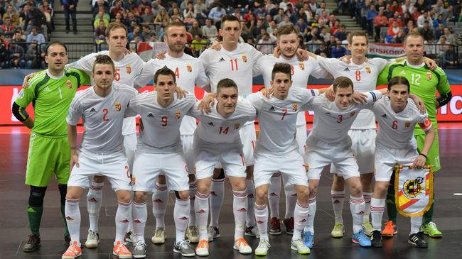 Futsal: Olaszországgal játszik a magyar válogatott a világbajnokságért