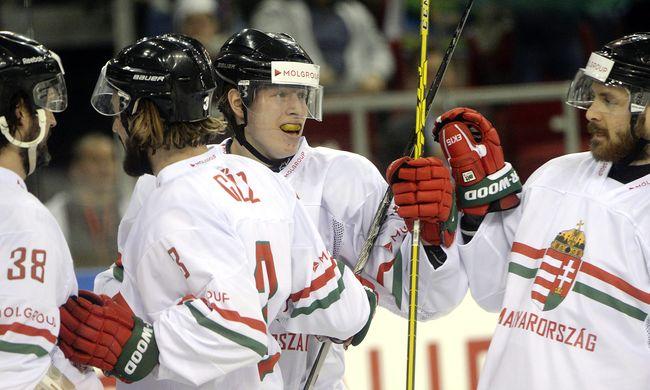 Második meccsét is megnyerte a magyar jégkorong-válogatott