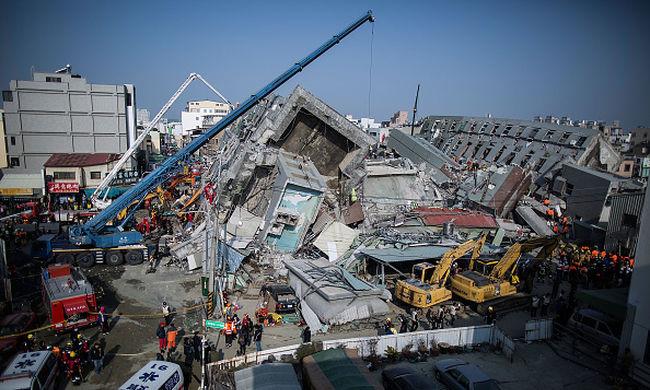 Tajvani földrengés: megvan az összes áldozat, 116-an haltak meg
