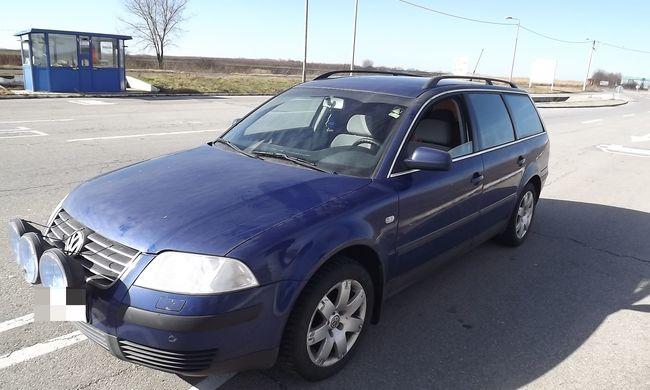 Svédországból lopott autót találtak