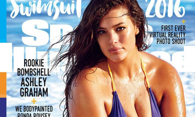 Egészségtelennek tartja, hogy plus size modell került a fürdőruhás magazin címlapjára