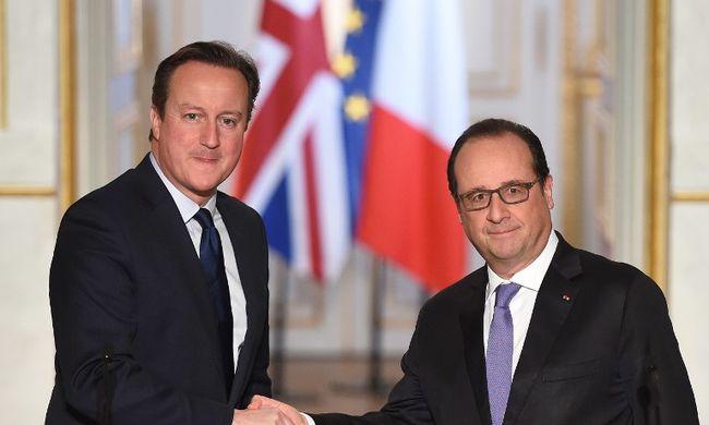 Cameron az EU-reformokról tárgyal Párizsban