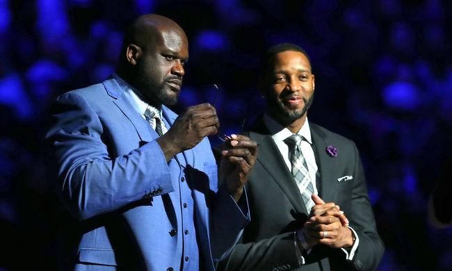 Fogadott a két NBA-legenda, hogy Shaq tud-e még zsákolni - videó