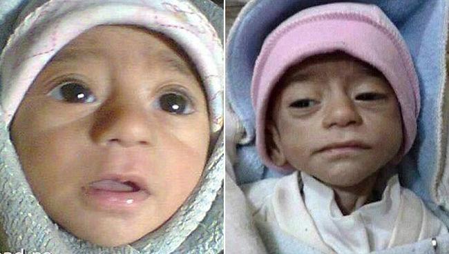 Halálra éhezteti a gyerekeket az Iszlám Állam