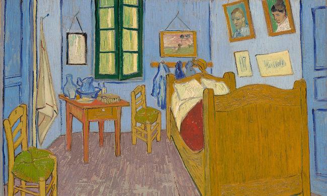 Digitálisan restaurálták Van Gogh arles-i szobáját
