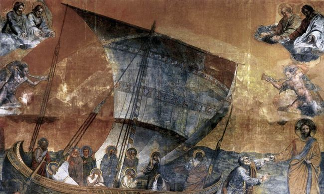 Ritka Giotto-másolat egy romos erdélyi templomban
