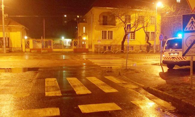 Zebrán gázolták el az idős nőt, kikerülték és elhajtottak
