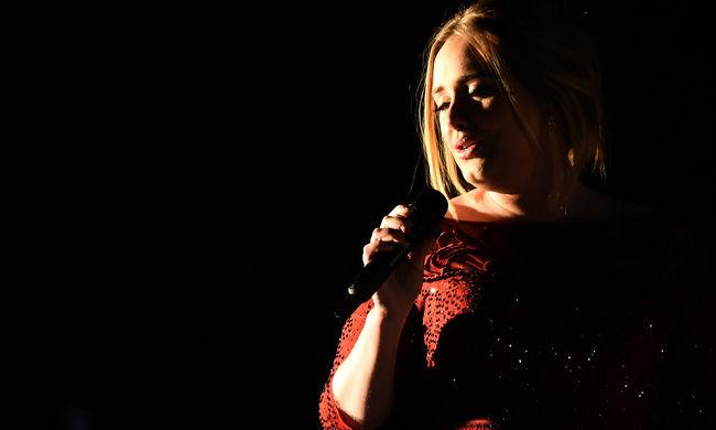 Adele végigzokogta a Grammy másnapját
