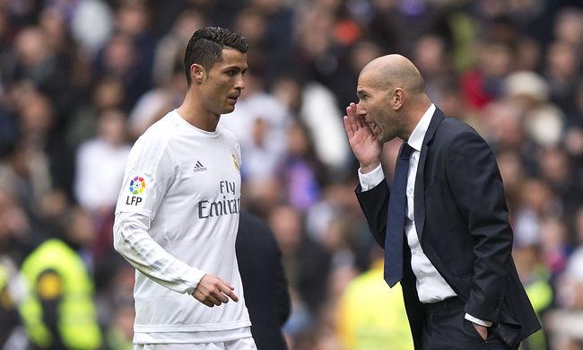 Zidane az AS Roma ellen mutatkozik be a Bajnokok Ligájában