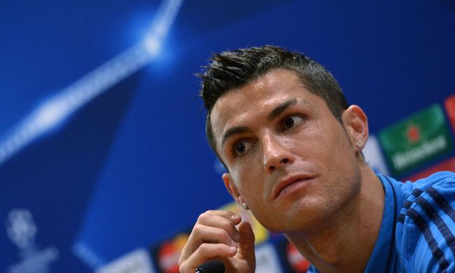 Megsértődött, majd otthagyta a sajtótájékoztatót Cristiano Ronaldo - videó