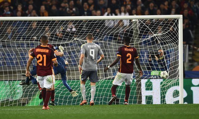 BL: A Real két góllal nyert Rómában, Cristiano Ronaldo gólt lőtt