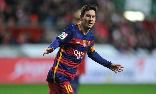 Messi belőtte a 300. gólját Spanyolországban - videó
