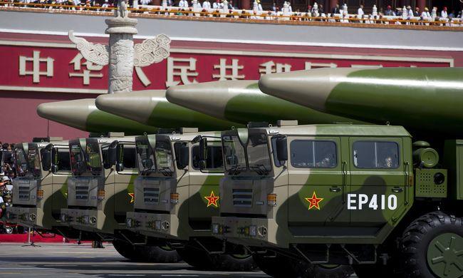 Rakétákat telepített Kína egy vitatott szigetre