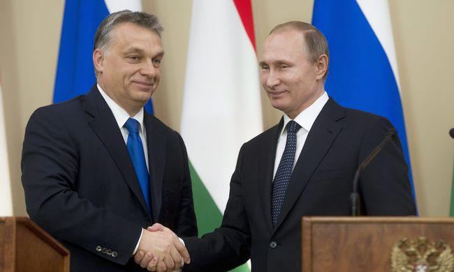 Orbán Viktor Moszkvában: a gázról és Paks II-ről is tárgyaltak