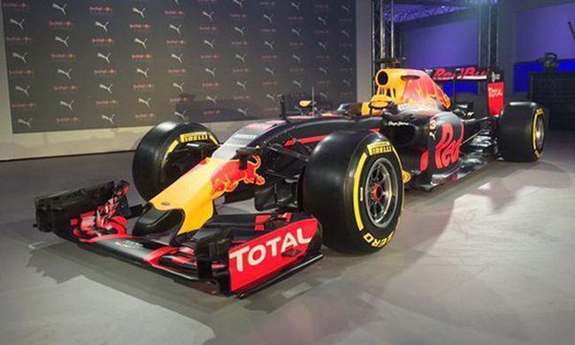A Red Bull bemutatta F1-es kocsija új színezését