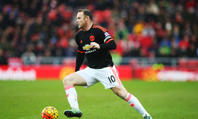 Wayne Rooney hónapokra kidőlt, súlyos térdsérülése van